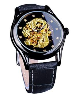 Forsining Men's Dragon Collection Forsining Limited Luxury
