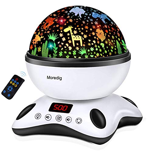Moredig Night Light Projector Remote Control and Timer
