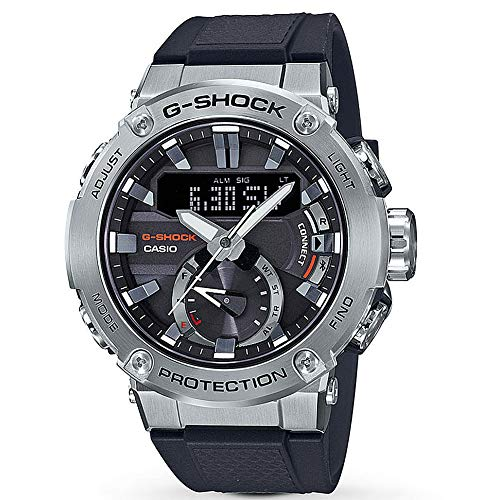 Men's Casio G-Shock G-Steel Carbon Core Guard Connected Watch