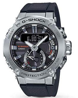 Men's Casio G-Shock G-Steel Carbon Core Guard Connected Watch