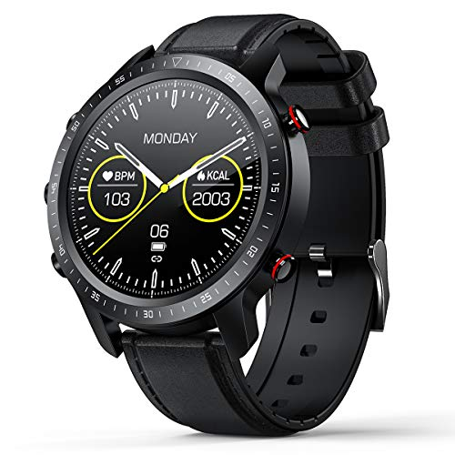 Fitness Tracker Step Counter SANAG Smart Watch, Watches for iOS Android
