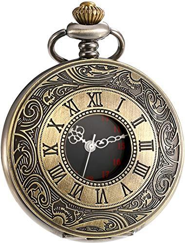 Vintage Pocket Watch Roman Numerals Scale Quartz