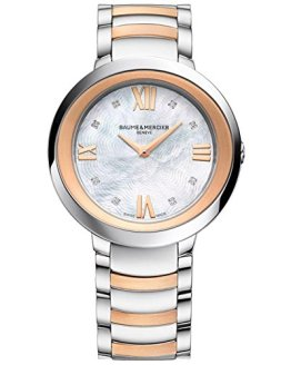 Baume, Mercier Promesse Womens Real Diamond Watch