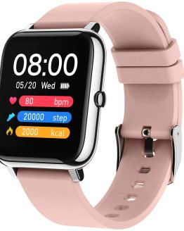 "Smart Watch Fitness Tracker, 1.4"" Full Touch Screen Sports Watch"