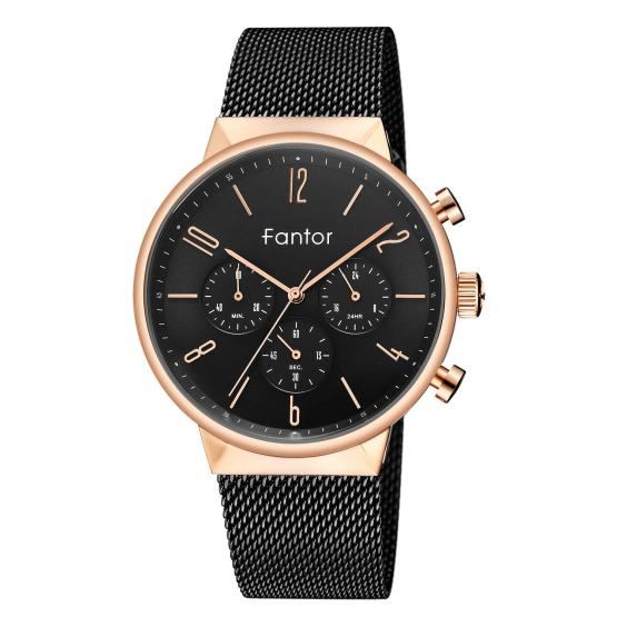 Luxury Men Watch Quartz Chronograph Classic Wristwatch