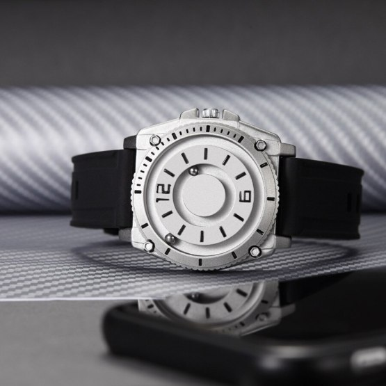 Magnetic Ball Mens Wristwatch
