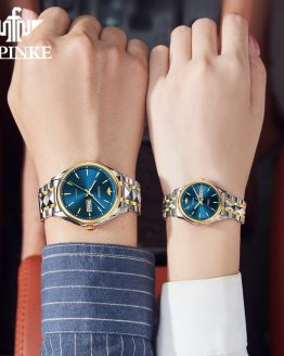 Brand Luxury Automatic Mechanical couple Watch Valentine's Day