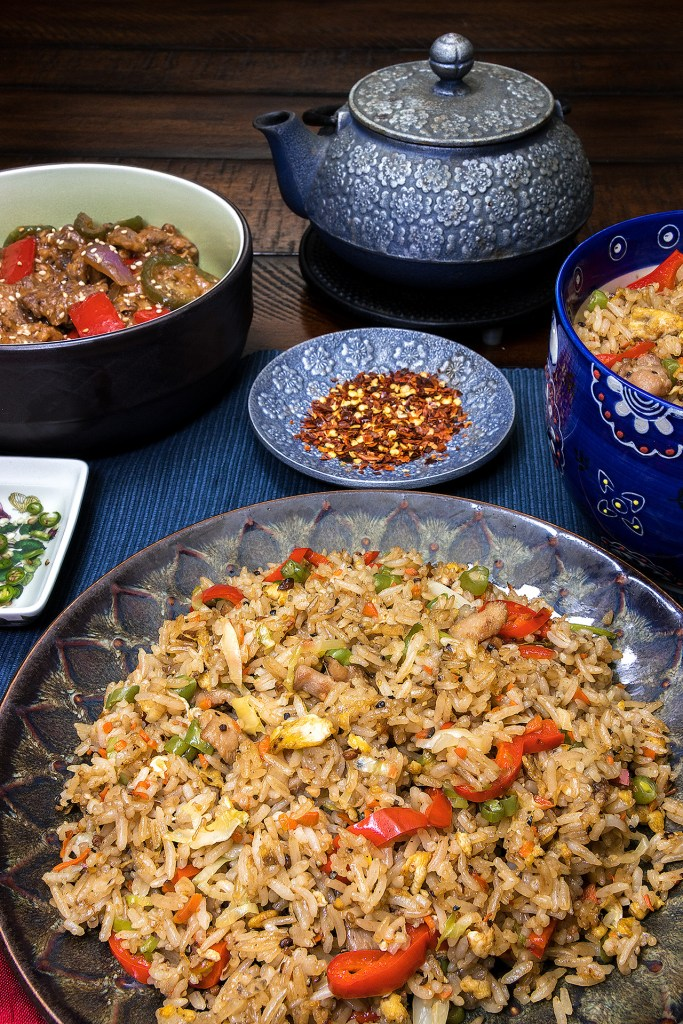 This image has an empty alt attribute; its file name is Chicken-Fried-Rice-Table-View-1-683x1024.jpg