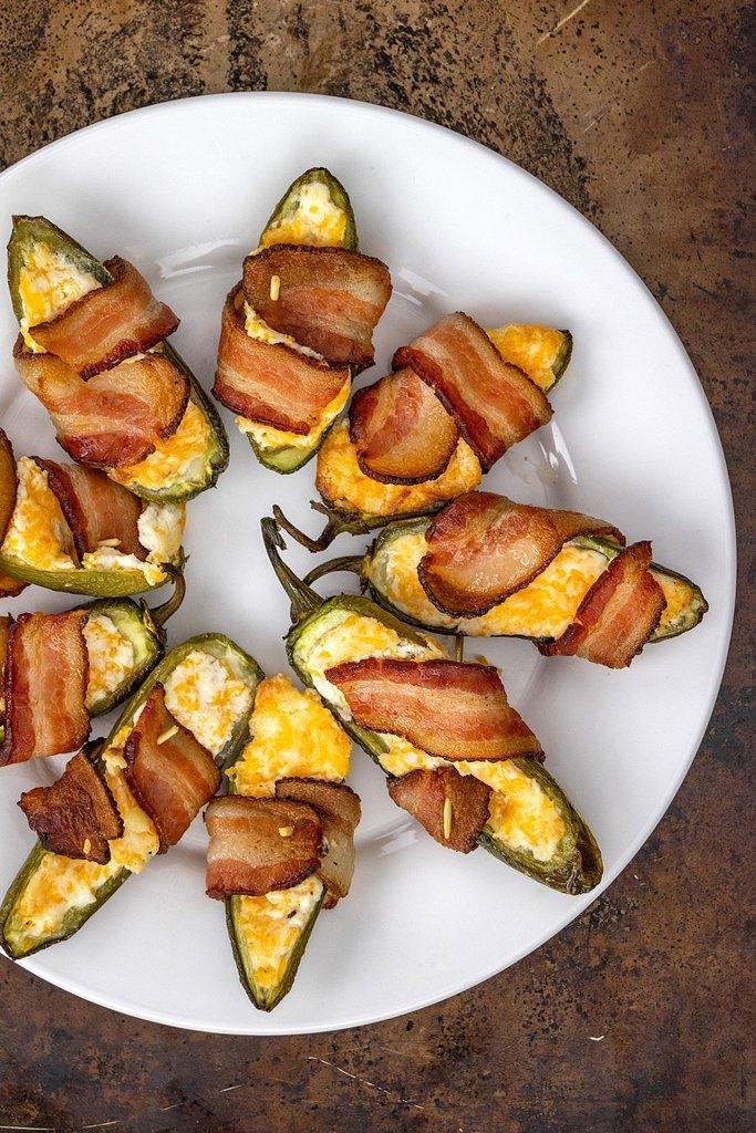Baked Jalapeno Popper Appetizers