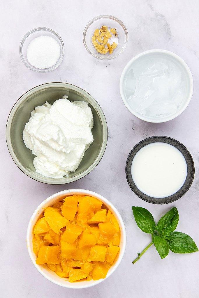 Indian Mango Lassi Ingredients