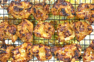 Chargrill the Chicken Tikka