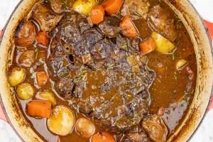 Delicious pot roast