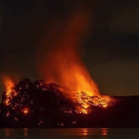 Massive Fire Spotted On Private Island Owned By Billionaire Jeffrey Epstein