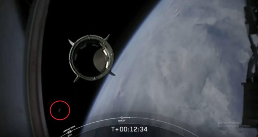 Multiple UFOs Spotted After SpaceX's 'Crew Dragon' Craft ...