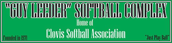 Guy Leeder Softball Complex - Home Of Clovis Softball Association