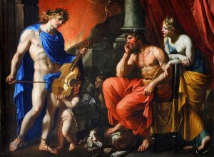 Orpheus Before Hades and Persephone, by Francois Perrier - Orpheus attempted to bring the dead back to life