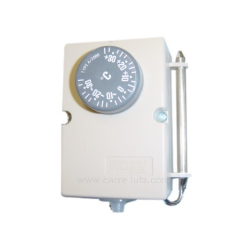 thermostat de climatiseur ou chambre froide 35 35 reference 542057