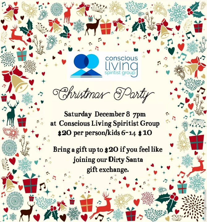 Conscious Living Christmas Party