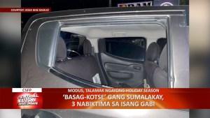 'Basag Kotse' Gang sumalakay, 3 nabiktima sa isang gabi | CLTV36 News