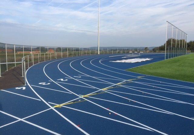 Inauguration de la piste d'athlétisme et du terrain de rugby d'Anvaing