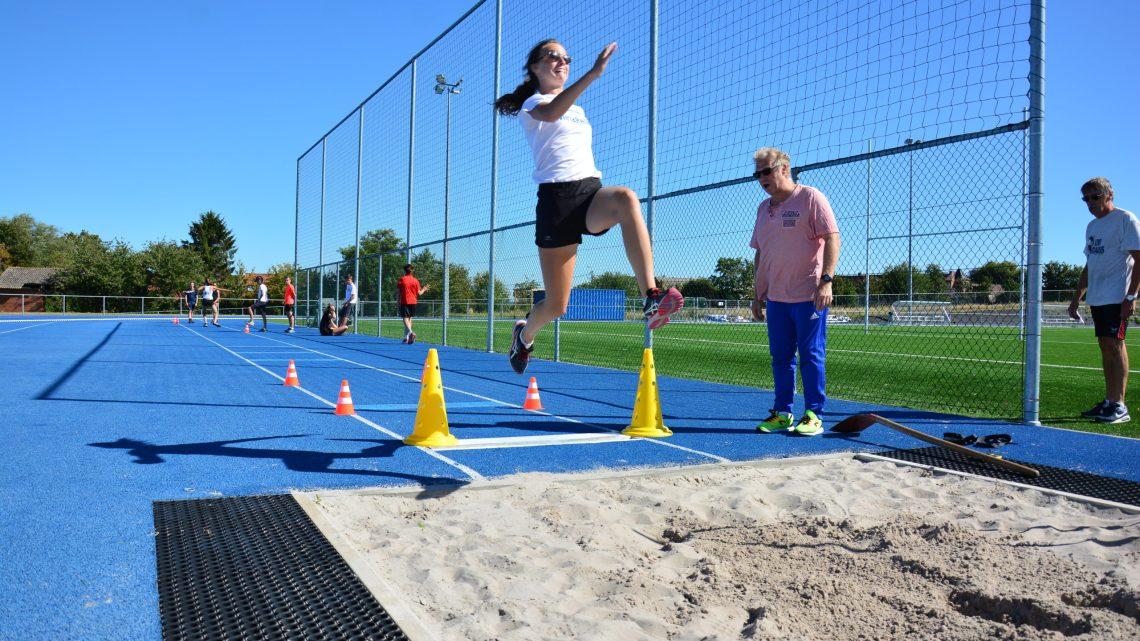 Stage d'athlétisme :Technique saut en longueur