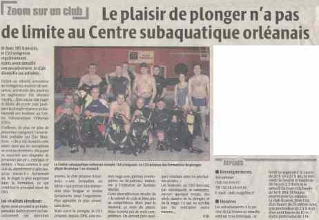 La République du Centre – 07/02/2007