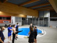 Briefing avant l'immersion