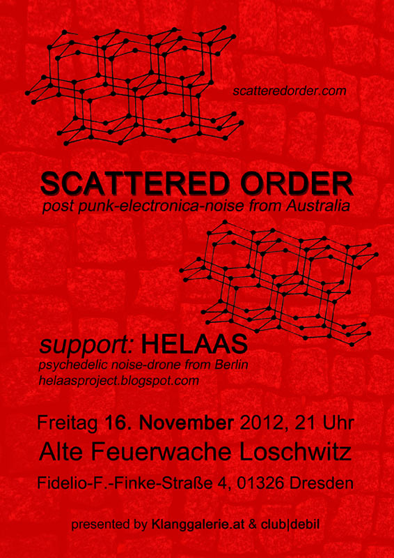 Scattered Order, Helass live in Dresden