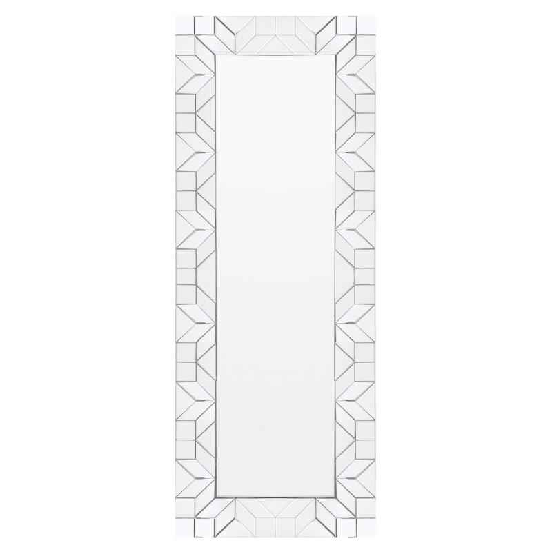 Miroir Mural Rectangle Cubes L 160 X H 60 Cm