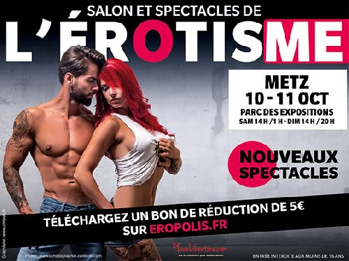 reduction avis sur eropolis salon de l erotisme metz 2015 visite photos