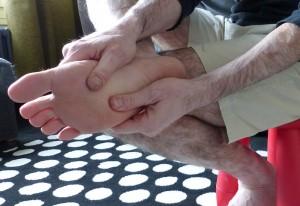 massage des pieds en solo automassage 5