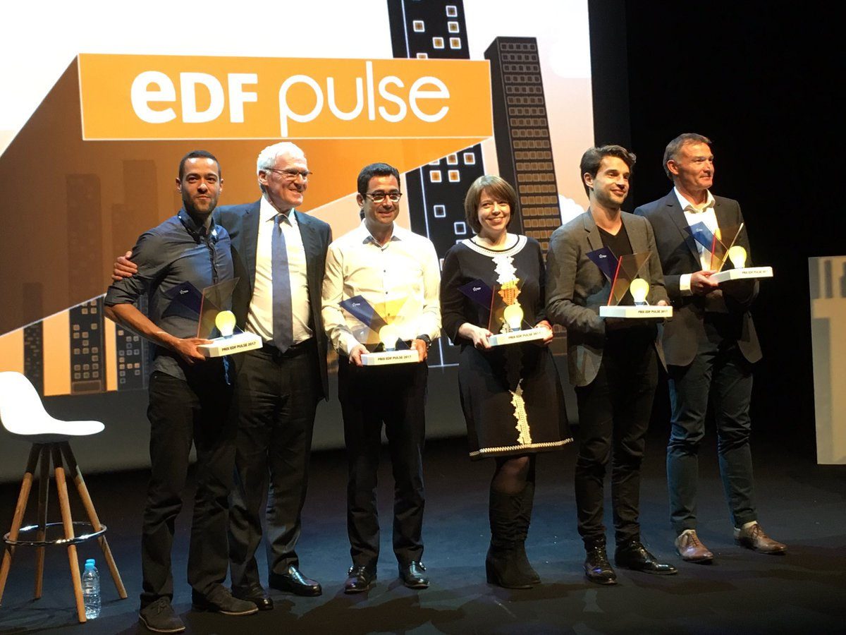 Lauréats EDF Pulse 2017