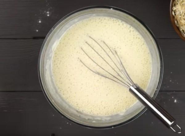 Заварные блины на молоке и кипятке с дырочками - рецепты с ...
