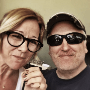 Pete Favat and Colleen DeCourcy