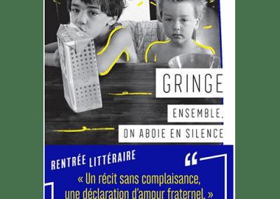Livre : Ensemble, on aboie en silence, Gringe