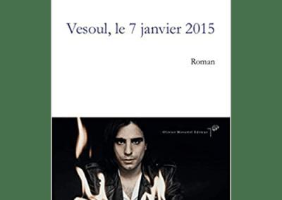 Livre : Vesoul le 7 janvier 2015, Quentin Mouron