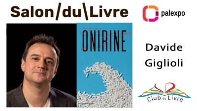 David Giglioli - Onirine - Editions cousu mouche - salon du livre genève 2019