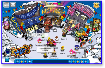 Post image for Club Penguin Music Jam Begins