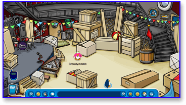 Club Penguin Fall Fair Preparations in the Lighthouse