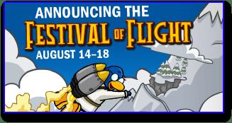 Post image for Club Penguin Festival of Flight