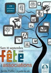 Fête des associations 2016 à Oloron Sainte Marie