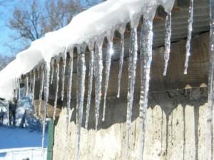 stalactites glace