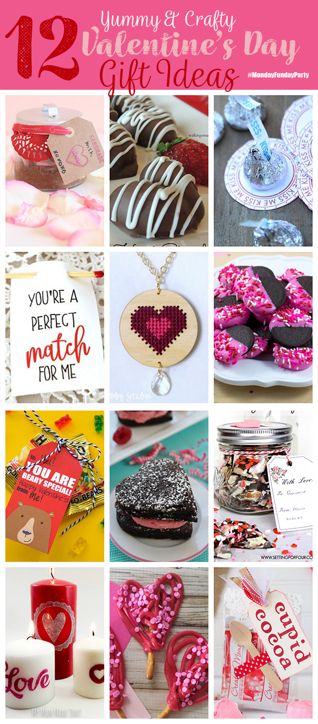 12 Yummy & Crafty Valentine's Day Ideas #MondayFundayParty