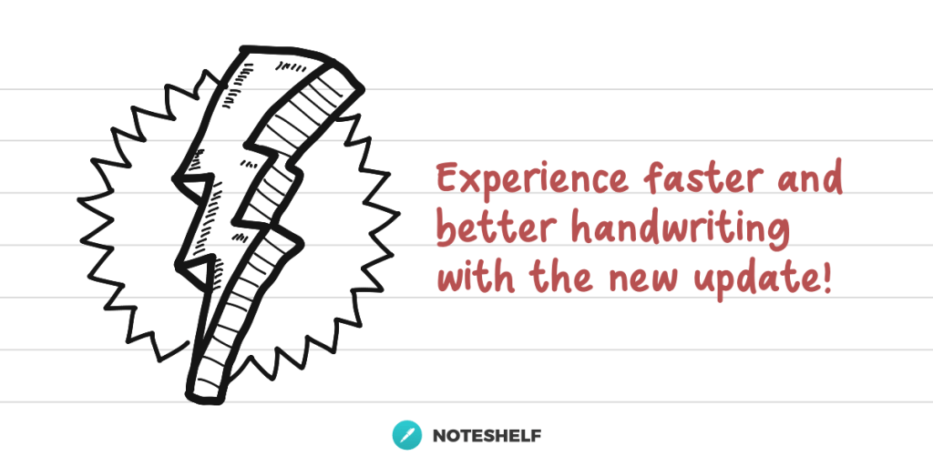 Experience better handwriting experience of Noteshelf 2