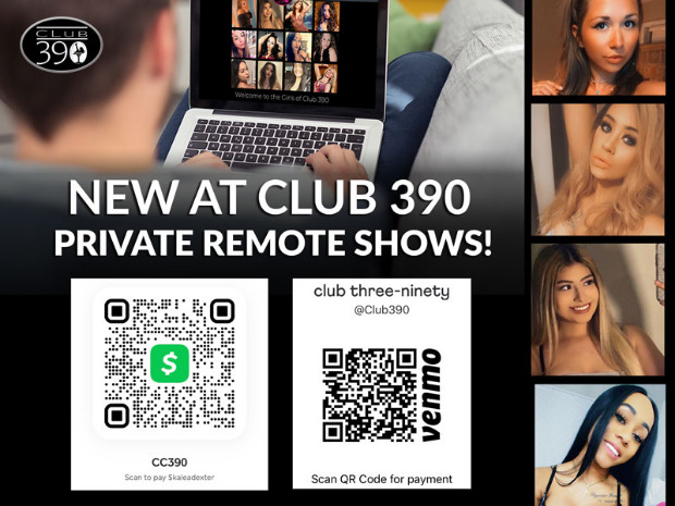 Club 390 Remote Shows