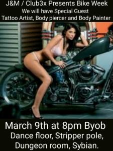 Bike Week Fun Continues W/Leather & Lace! @ Club3X | Cocoa | Florida | United States