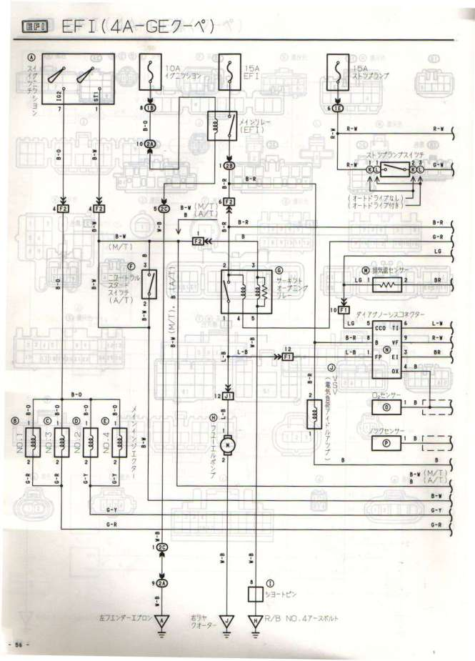 4age 20v distributor wiring diagram wiring diagram 4age 20v ecu wiring diagram