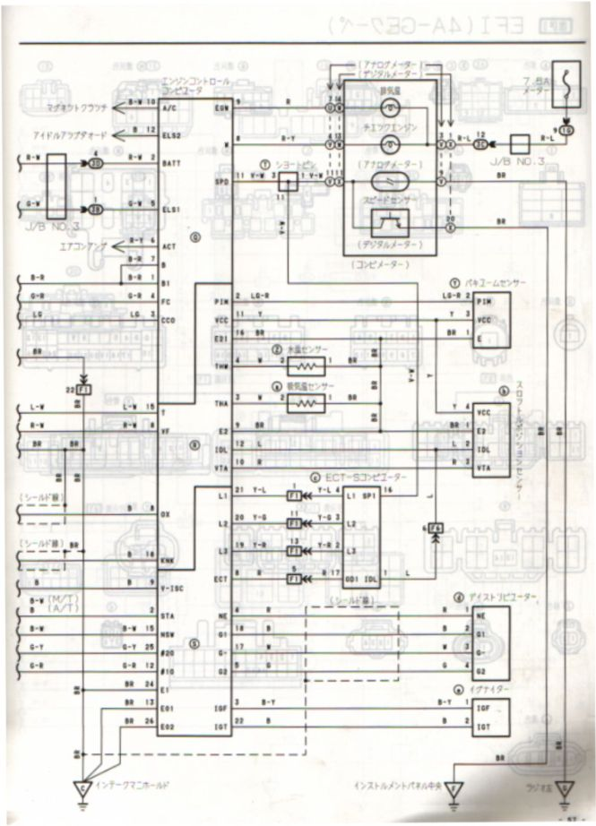 toyota corolla ke wiring diagram toyota image corolla wiring diagram wiring diagram on toyota corolla ke70 wiring diagram