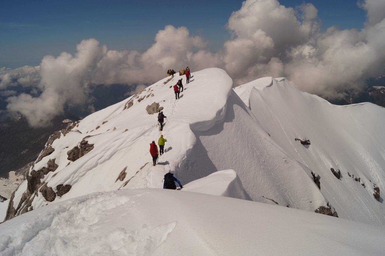 Школа альпинизма в Гуамке