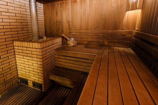 Баня в мини-гостинице Вершина в Гуамке